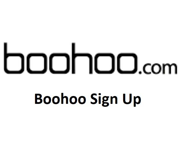 Boohoo Sign Up
