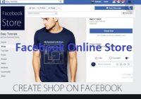 Facebook Online Store Setup
