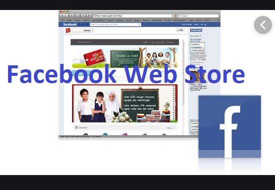 Facebook Web Store