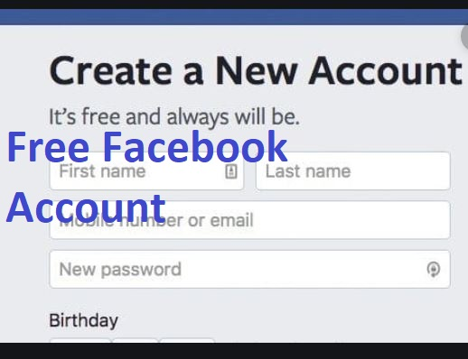 Free Facebook Account Sign in