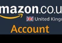 Amazon UK New Account Setup | Amazon UK Register New Account