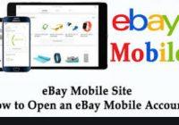 ebay mobile site