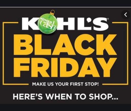 Kohl's Black Friday 2019  -  Deals, sales Ads