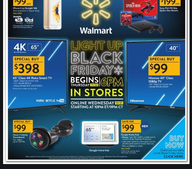 Walmart Black Friday 2019 Ad, Deals & Sales Shopping Tips