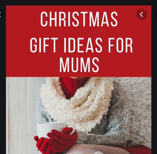 Christmas Gifts For Mums - Christmas Presents For Mum