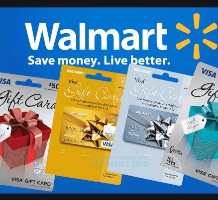 Walmart Visa Gift Card - A Perfect Gift This Christmas